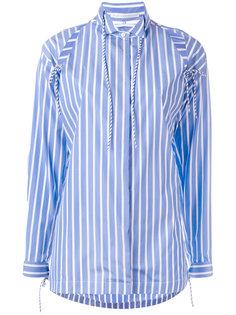 рубашка в полоску Ermanno Scervino