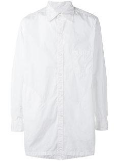 рубашка свободного кроя с длинными рукавми Yohji Yamamoto