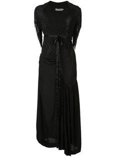 длинное платье с бахромой Preen Line