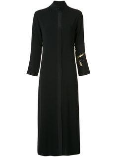 длинное платье-рубашка Peter Cohen