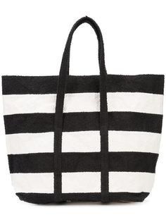 полосатая сумка-шоппер Zilla