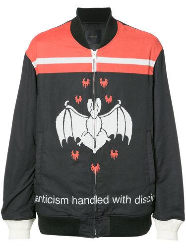 куртка-бомбер с летучей мышью Undercover