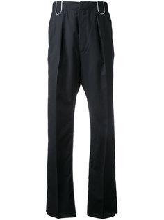 брюки с отражающей нашивкой Lanvin