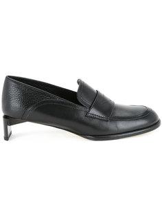 лоферы-слипон на низких каблуках Loewe