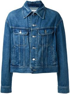 джинсовая куртка с отделкой на спине  Ambush