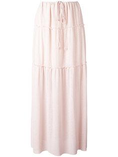 длинная плиссированная юбка See By Chloé