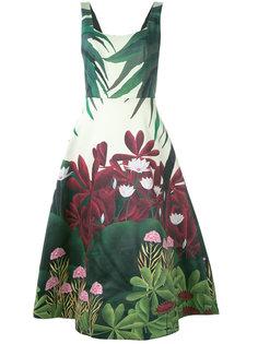 платье с цветочным принтом Alice+Olivia
