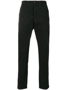 брюки чинос с перфорацией  YMC