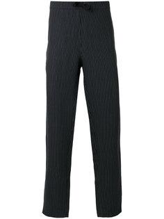 спортивные брюки в полоску со шнурком  Harmony Paris