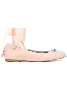 балетки со шнуровкой #findmeinwonderland Chiara Ferragni