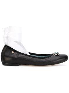 балетки на шнуровке #findmeinwonderland Chiara Ferragni