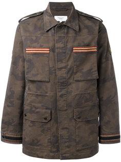 камуфляжная куртка с вышивкой Fashion Clinic Timeless