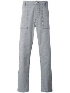 брюки в полоску Maison Kitsuné