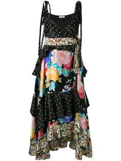 многоярусное платье Carmen Attico