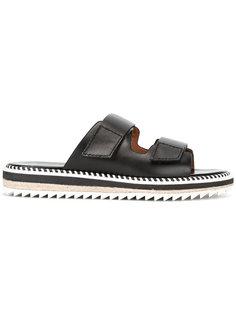 сандалии с обметочным швом Givenchy