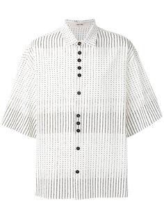 рубашка в полоску и горошек Damir Doma