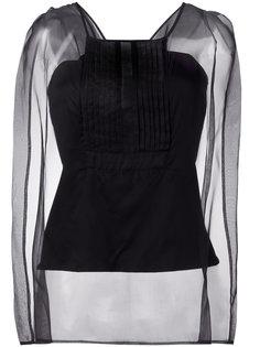 блузка с прозрачными рукавами Io Ivana Omazic