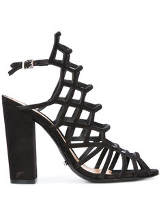 босоножки с ремешками на каблуках-столбиках Schutz