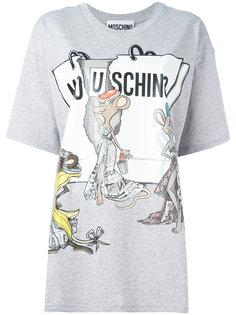 футболка Rat-A-Porter Moschino