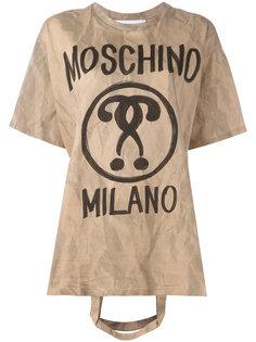 футболка с ручкой от сумки Moschino