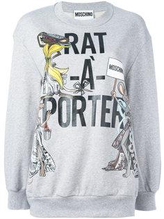 толстовка Rat-A-Porter Moschino