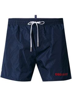 шорты для плавания с принтом логотипа Dsquared2