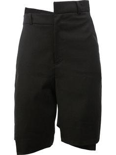 классические шорты асимметричного кроя Moohong