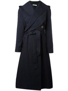 пальто с поясом JW Anderson