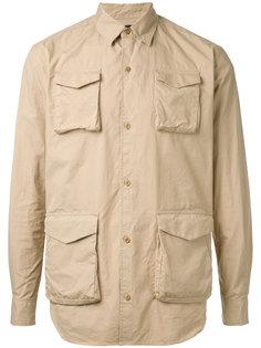 рубашка с карманом спереди  Undercover