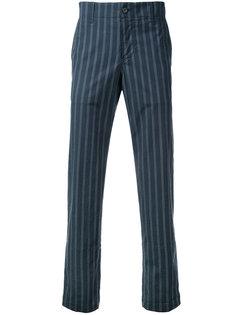 брюки в полоску Undercover