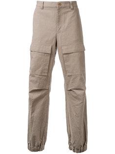 брюки-чинос с эластичными манжетами  Undercover