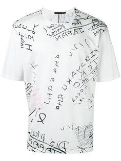 футболка с принтом  Issey Miyake