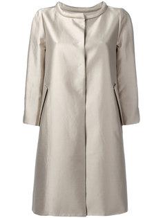 пальто с потайной застежкой Armani Collezioni