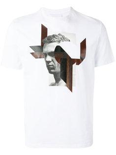 футболка с принтом Modernist Steve McQueen Neil Barrett
