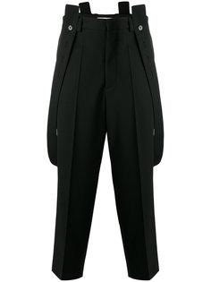 брюки с подтяжками Marni