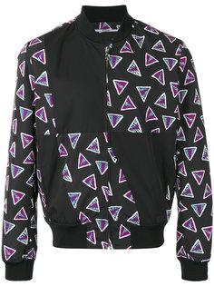 куртка-бомбер с треугольным принтом Kenzo