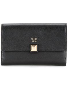 тонкий удлиненный кошелек Fendi