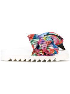 сандалии с массивным узлом Joshua Sanders