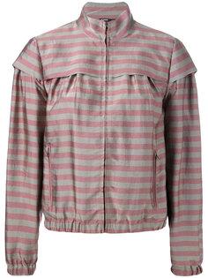 куртка в полоску Jil Sander Navy