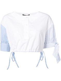 укороченная рубашка хенли Alexander Wang