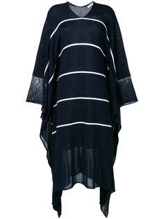 трикотажное платье с драпировкой Stella McCartney