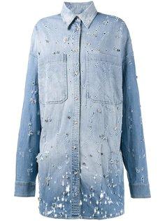 декорированная джинсовая рубашка Faith Connexion
