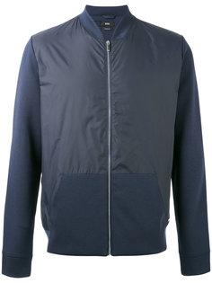 куртка-бомбер с панельным дизайном Boss Hugo Boss