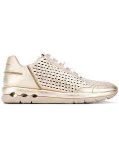 кроссовки с вырезными деталями Salvatore Ferragamo
