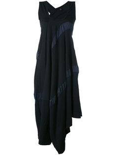 асимметричное платье с панельным дизайном Ys Y`s