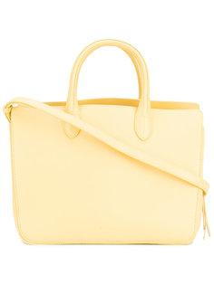 сумка-тоут с тиснением логотипа Jil Sander