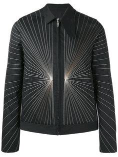 куртка-бомбер с вышивкой Rick Owens