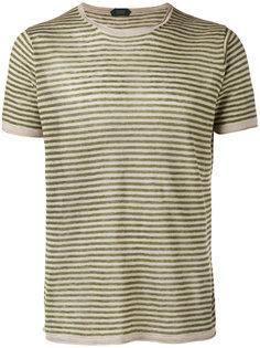 трикотажная футболка в полоску Zanone