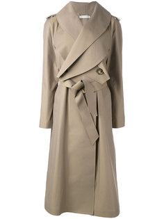 длинное пальто с поясом JW Anderson