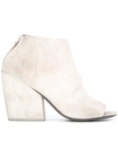 ботинки с вырезными деталями Marsèll